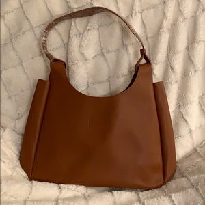 Neiman Marcus brown tote bag